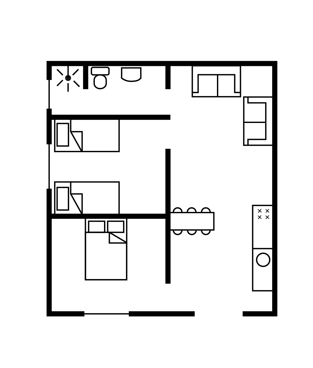 Plan appartments