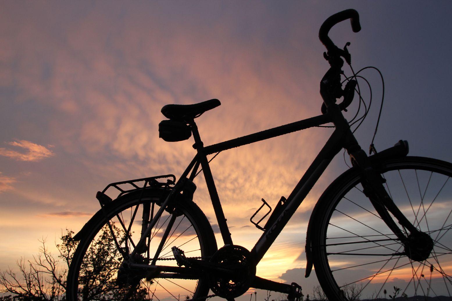 Rust na een fietstocht