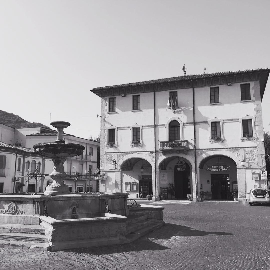De 'Piazza' van Novafeltria ❤️